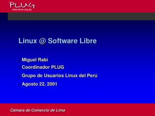 Linux @ Software Libre