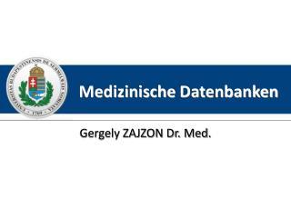 Medizinische Datenbanken