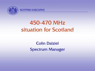 450-470 MHz situation for Scotland