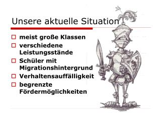 Unsere aktuelle Situation