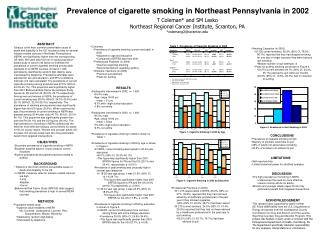 Prevalence of cigarette smoking in Northeast Pennsylvania in 2002