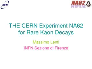 THE CERN Experiment NA62 for Rare Kaon Decays