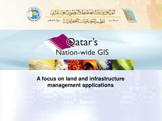 A focus on land and infrastructure management applications