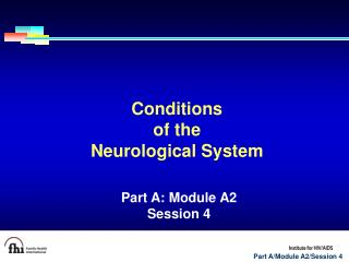 Conditions  of the  Neurological System