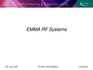 EMMA RF Systems