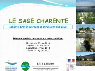 LE SAGE CHARENTE
