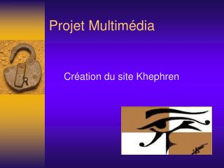 Projet Multimédia