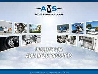 About us General features Account Manager AD Tracker Aircraft Maintenance Manager Presentation