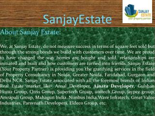 Ansal Megapolis Plots   SanjayEstate.Com   Greater Noida HO