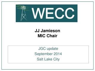 JJ Jamieson MIC Chair