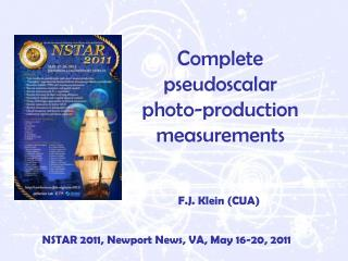 Complete pseudoscalar photo-production measurements