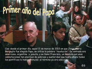 Primer año del Papa