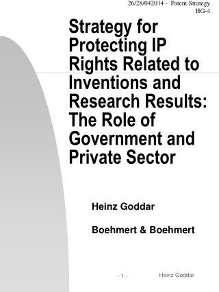Heinz Goddar Boehmert & Boehmert