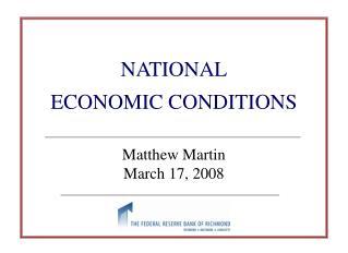 Matthew Martin March 17, 2008