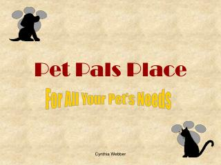 Pet Pals Place