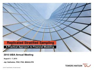 Replicated Stratified Sampling