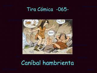 Tira C�mica  -065-