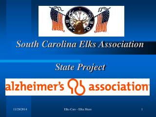 South Carolina Elks Association  State Project