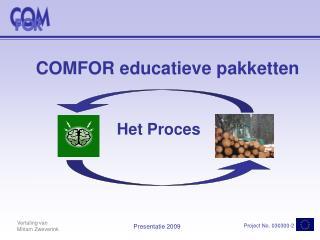 COMFOR educatieve pakketten