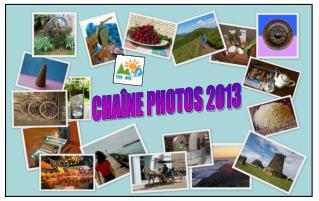 CHAÎNE PHOTOS 2013