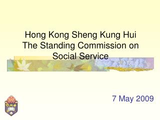Hong Kong Sheng Kung Hui The Standing Commission on Social Service