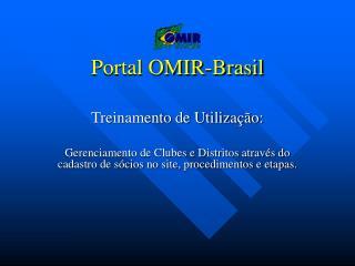Portal OMIR-Brasil