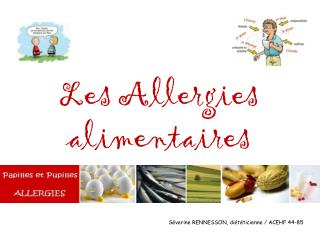 Les Allergies alimentaires