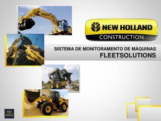 SISTEMA DE MONITORAMENTO DE MÁQUINAS FLEETSOLUTIONS
