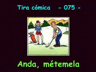 Tira c�mica   - 075 -