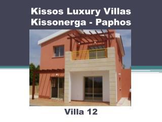 Kissos Luxury Villas Kissonerga - Paphos