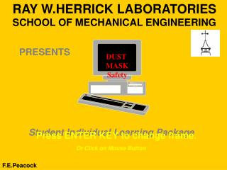 RAY W.HERRICK LABORATORIES SCHOOL OF MECHANICAL ENGINEERING