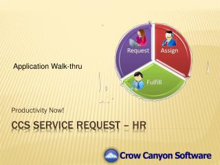 CCS Service Request – HR