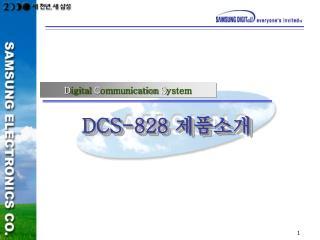 DCS-828  제품소개