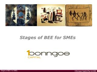 Stages of BEE for SMEs