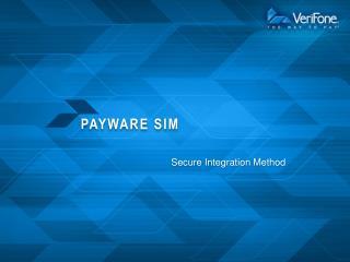 PAYware SIM