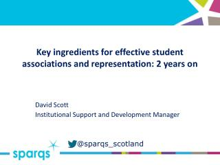 Key ingredients for effective student associations and representation: 2 years on