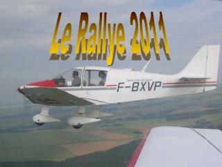 Le Rallye 2011