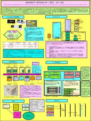 MAXIのデータプロセッサ-(DP) リリース2