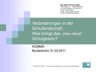 """Veränderungen in der Schullandschaft:  Was bringt das """"neu-neue"""" Schulgesetz?"""