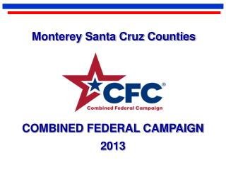 COMBINED FEDERAL CAMPAIGN 2013
