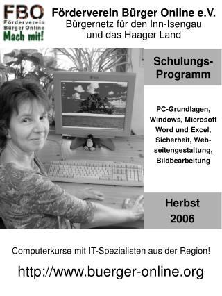 Schulungs-Programm