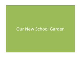 Our New School Garden
