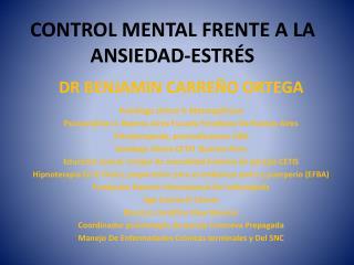 CONTROL MENTAL FRENTE A LA ANSIEDAD-ESTR S