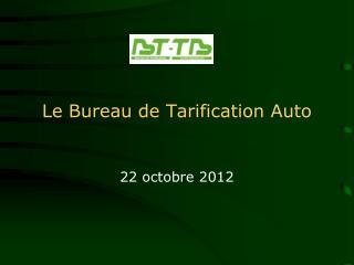 Le Bureau  de Tarification Auto
