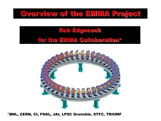 Overview of the EMMA Project