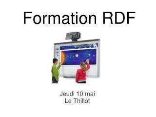 Formation RDF