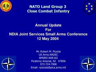 NATO Land Group 3  Close Combat Infantry