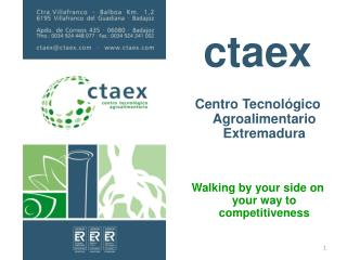 ctaex Centro Tecnológico Agroalimentario Extremadura