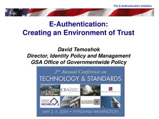 The E-Authentication Initiative