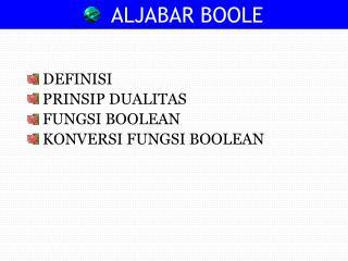 ALJABAR BOOLE